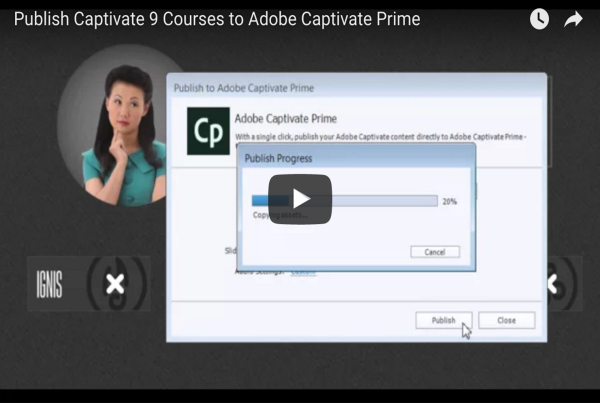 Publish Adobe Captivate Courses to Adobe Captivate Prime