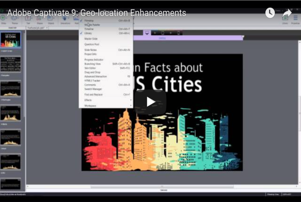 Geolocation Enhancements in Adobe Captivate 9