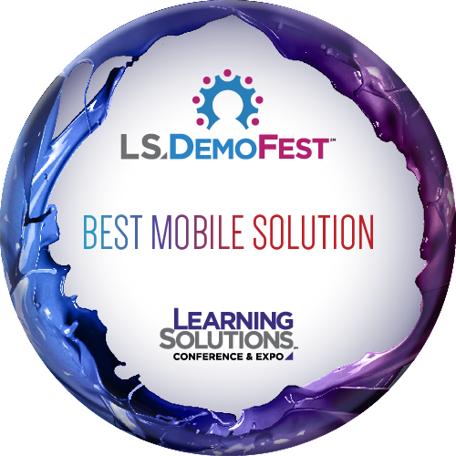 LS DemoFest Best Mobile Solution Award for Dr. Pooja Jaisingh