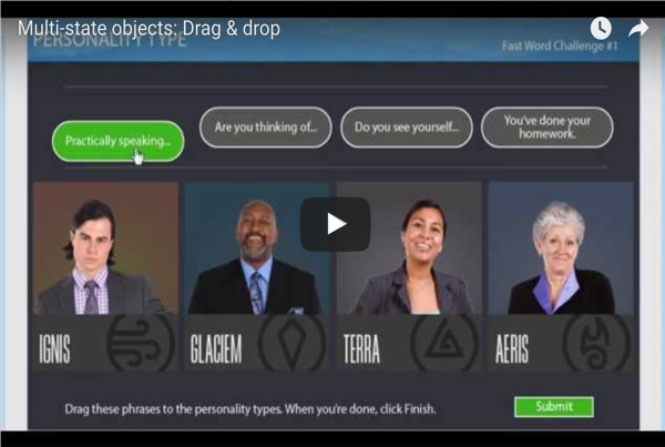 Multi-state objects for Drag & drop interaction in Adobe Captivate 9