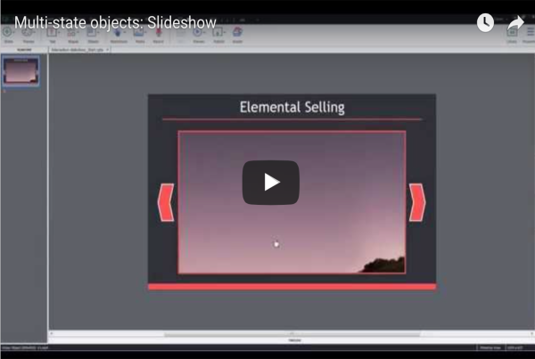 Building Slideshows with Multi-state objects in Adobe Captivate 9